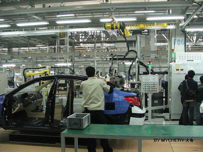 北京现代新厂PP 车辆生产流程高清图片