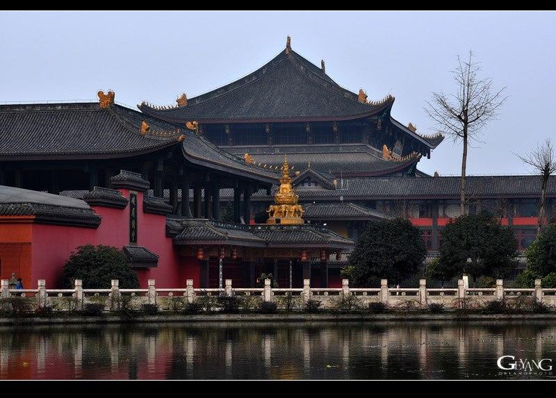 中国佛教寺庙的布局 - 静水流深 - 静水流深