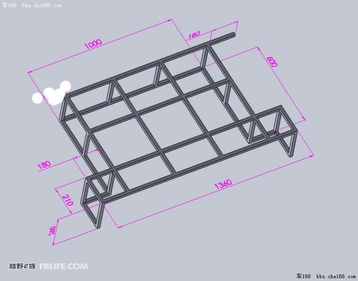 技术贴,改造床超难度设计,自己画的图纸 新奇